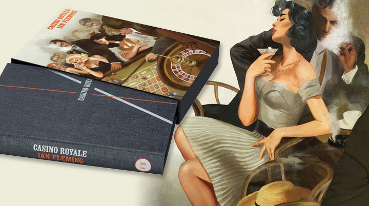 New illustrated edition of Casino Royale from The Folio Society