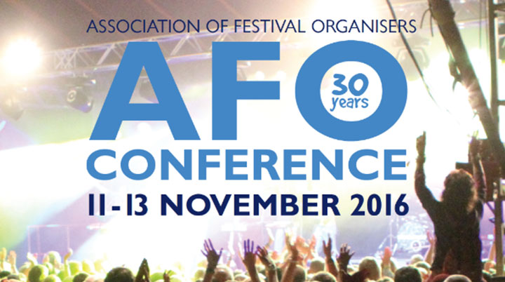 The Association of Festival Organisers celebrates 30 years at November Conference