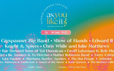 """""""If all the world's a stage"""" …. As You Like It Festival"""