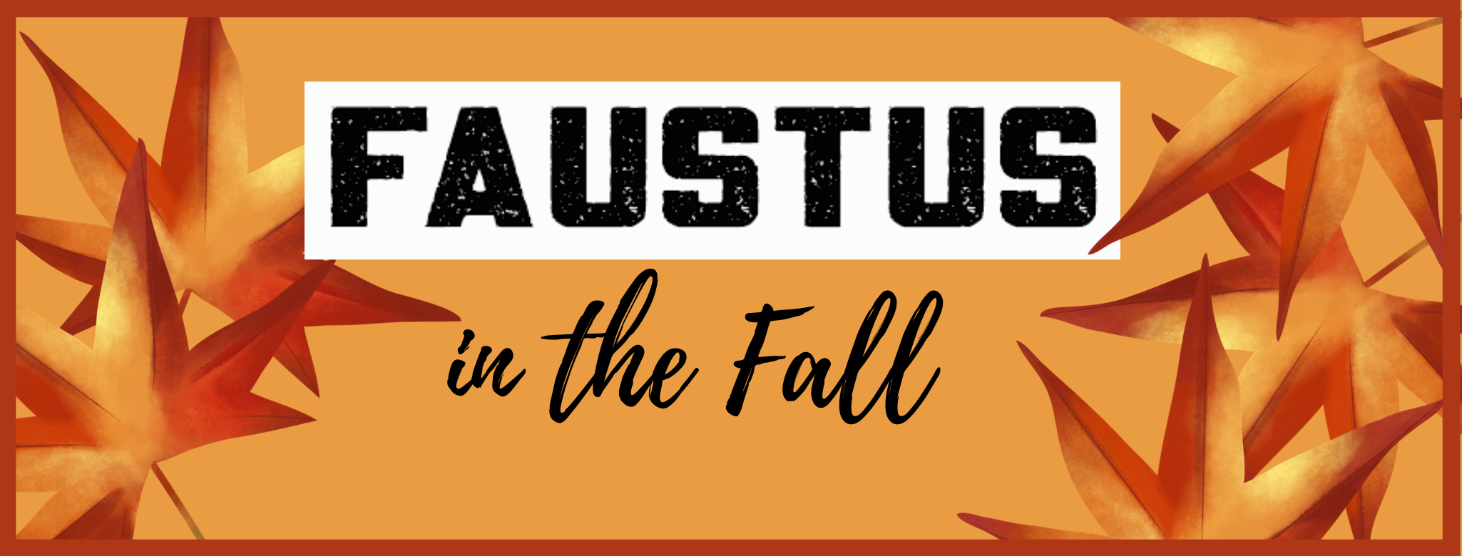 Faustus in the Fall – Sunday evening concerts with Saul, Benji and Paul