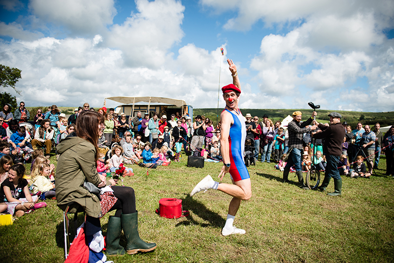 entertainment at purbeck folk festival