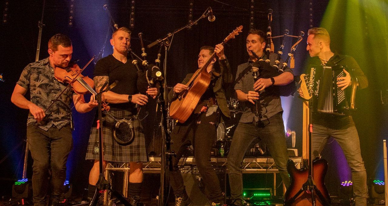Skerryvore celebrate 15 years with Live Across Scotland