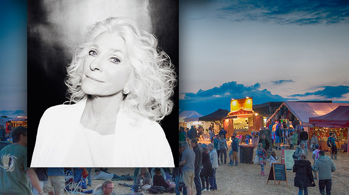 Judy Collins interview – headlines Wickham Festival 1st August