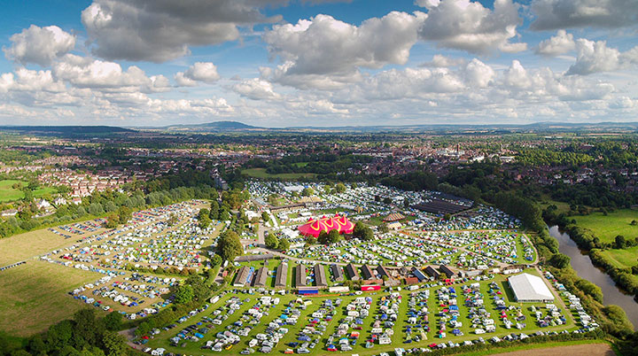 Shrewsbury Folk Festival gains from second round of Government's Culture Recovery Fund