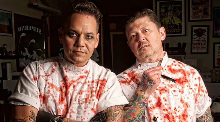 The Cutthroat Brothers – Taste For Evil